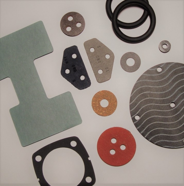various Custom Gaskets from AFGCO in many shapes, sizes, and colors